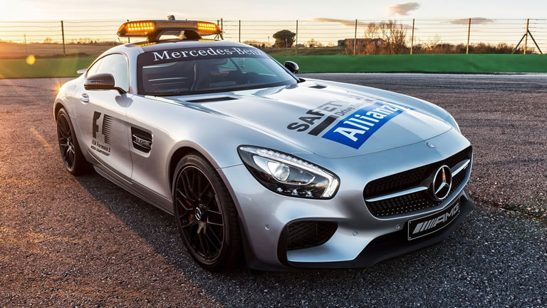 2015 Mercedes-Benz AMG GT S F1 Safety Car
