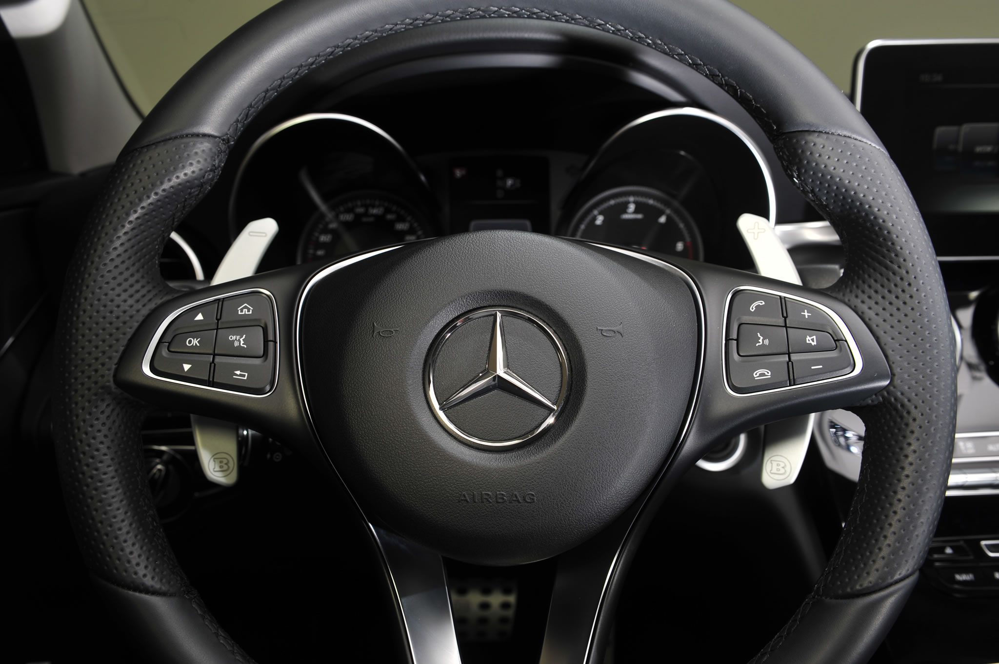 Land Rover Models >> 2015 Mercedes-Benz C220 D3 by Brabus - interior photo ...