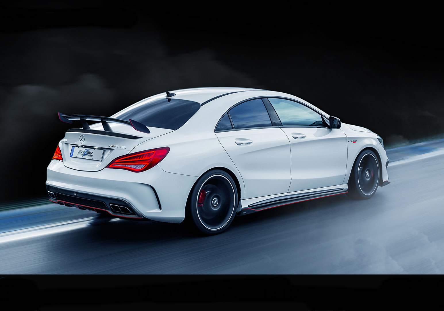 2015 mercedes benz cla45 amg by revozport rear photo for 2015 mercedes benz cla