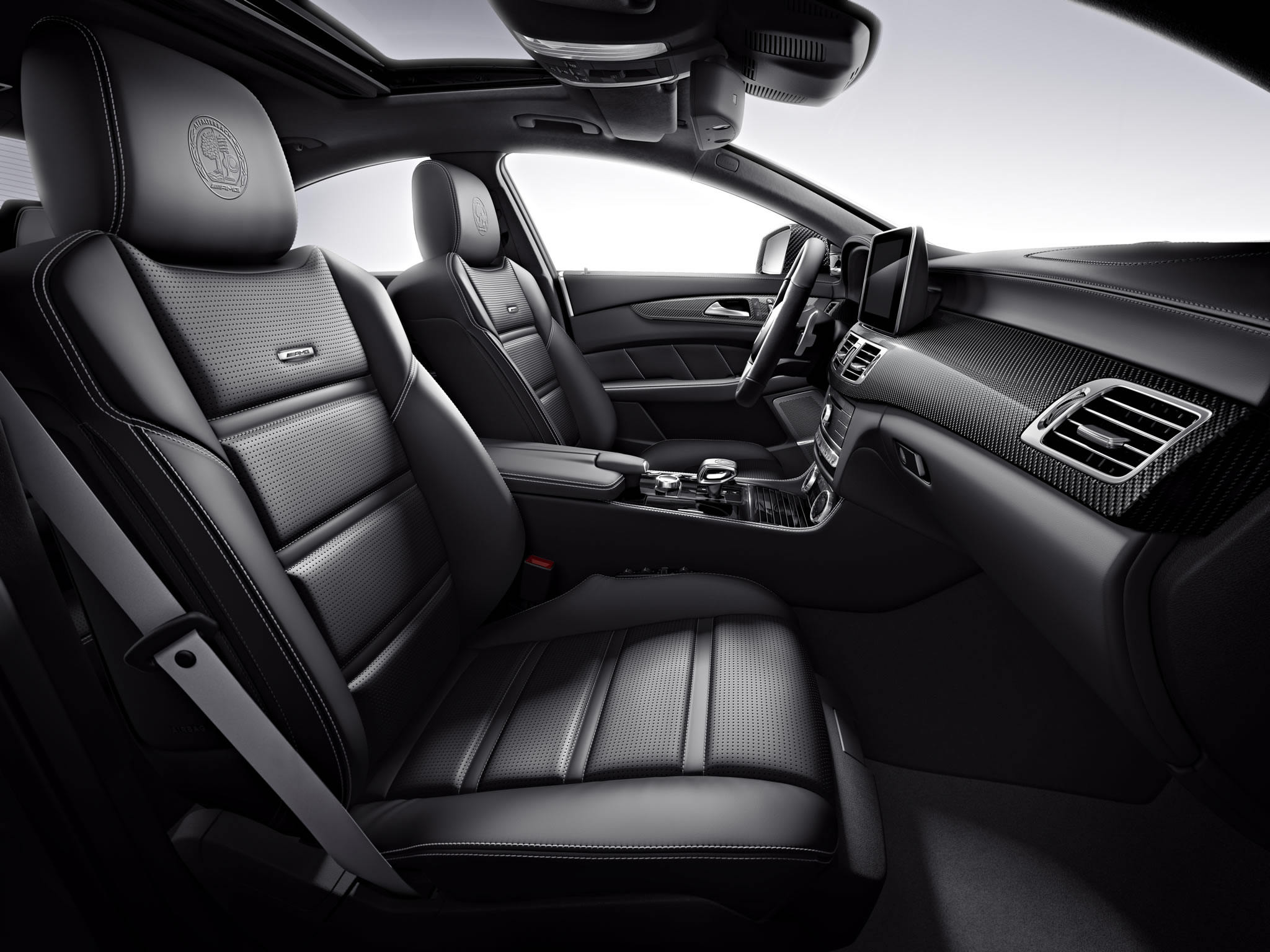 2015 Mercedes Benz Cls63 Amg Interior Photo Seats Size