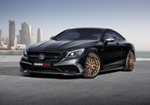 2015 Mercedes-Benz S63 AMG Coupe 850 by Brabus