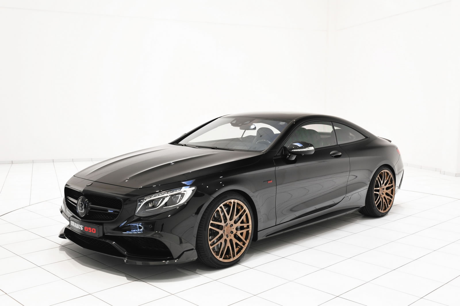 2015 mercedes benz s63 amg coupe 850 by brabus front for Mercedes benz s63 amg biturbo