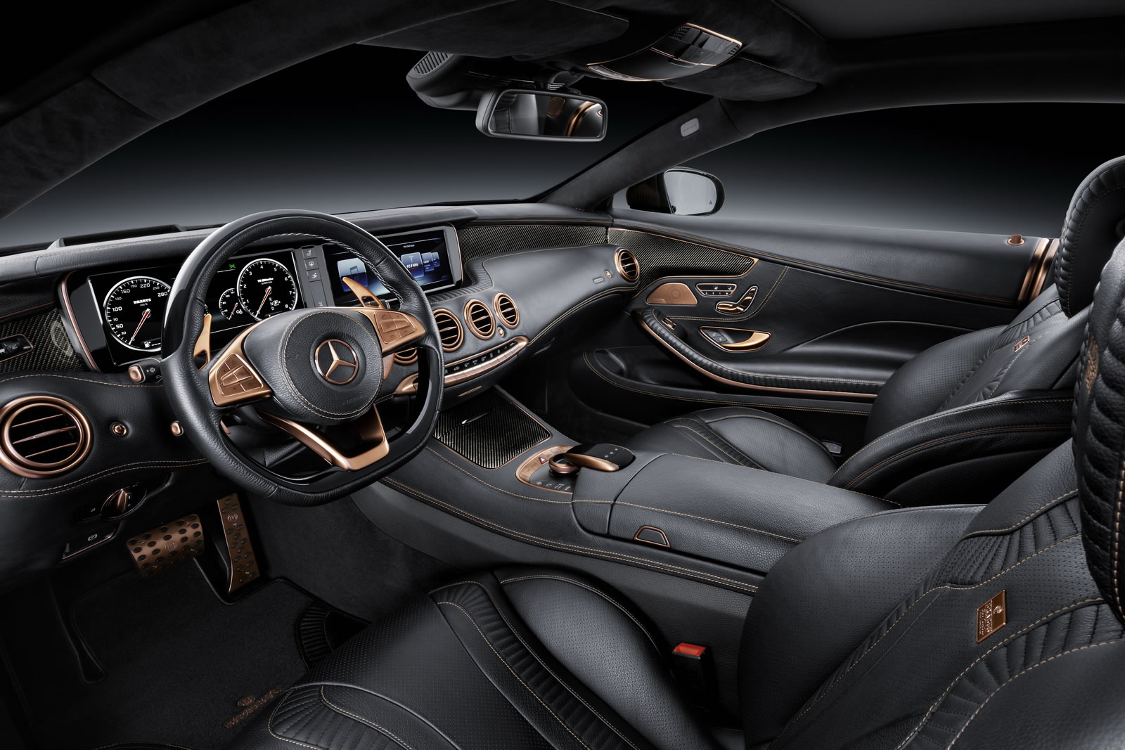 2015 Mercedes Benz S63 Amg Coupe 850 By Brabus Interior