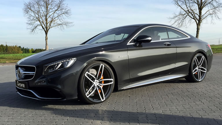 2015 Mercedes Benz S63 Amg Coupe By G Power Photos Specs