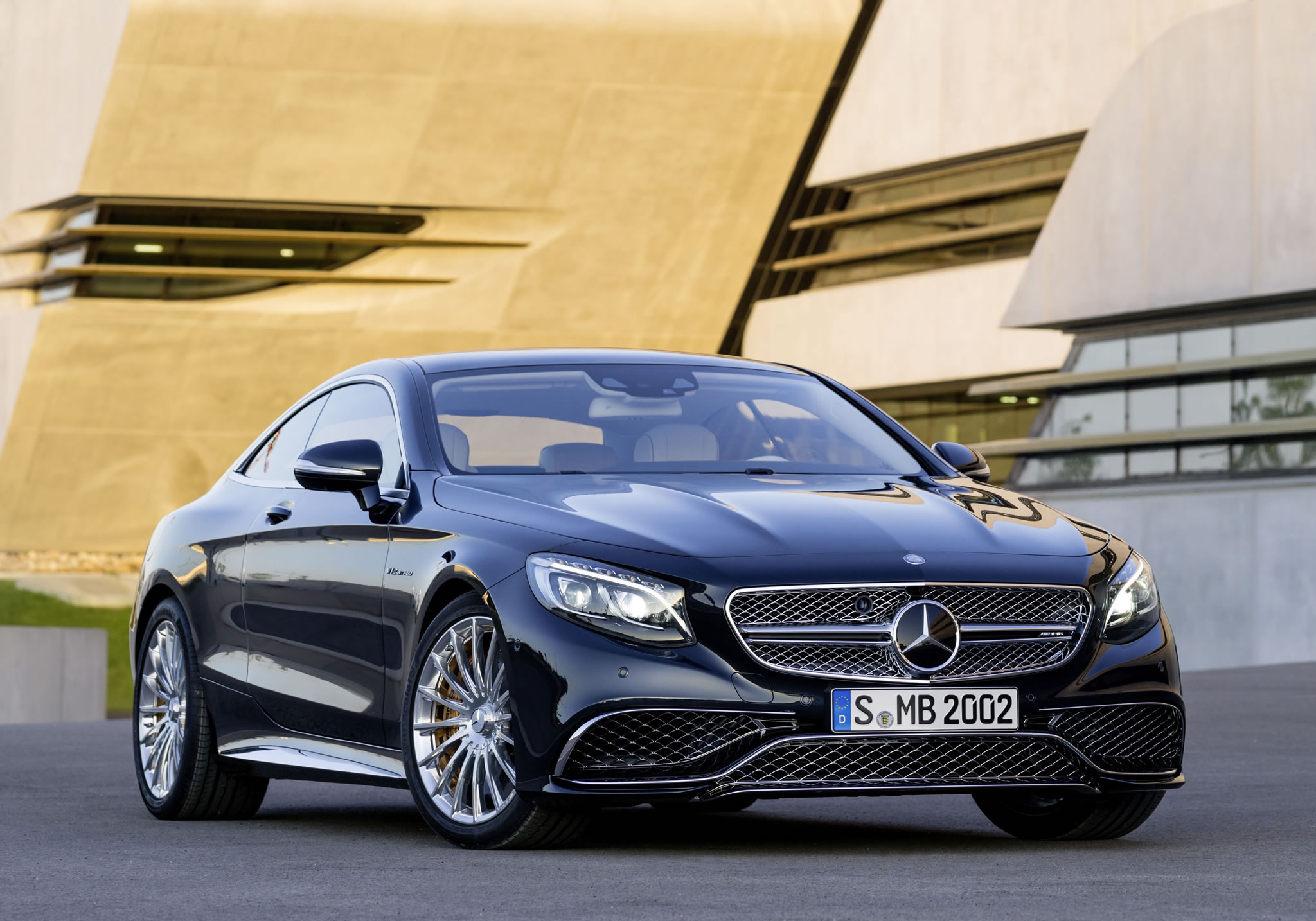 2015 mercedes benz s65 amg coupe front photo anthracite for 2015 mercedes benz s65