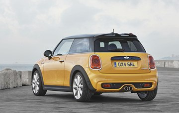 The new MINI Cooper S has grown by some 4 