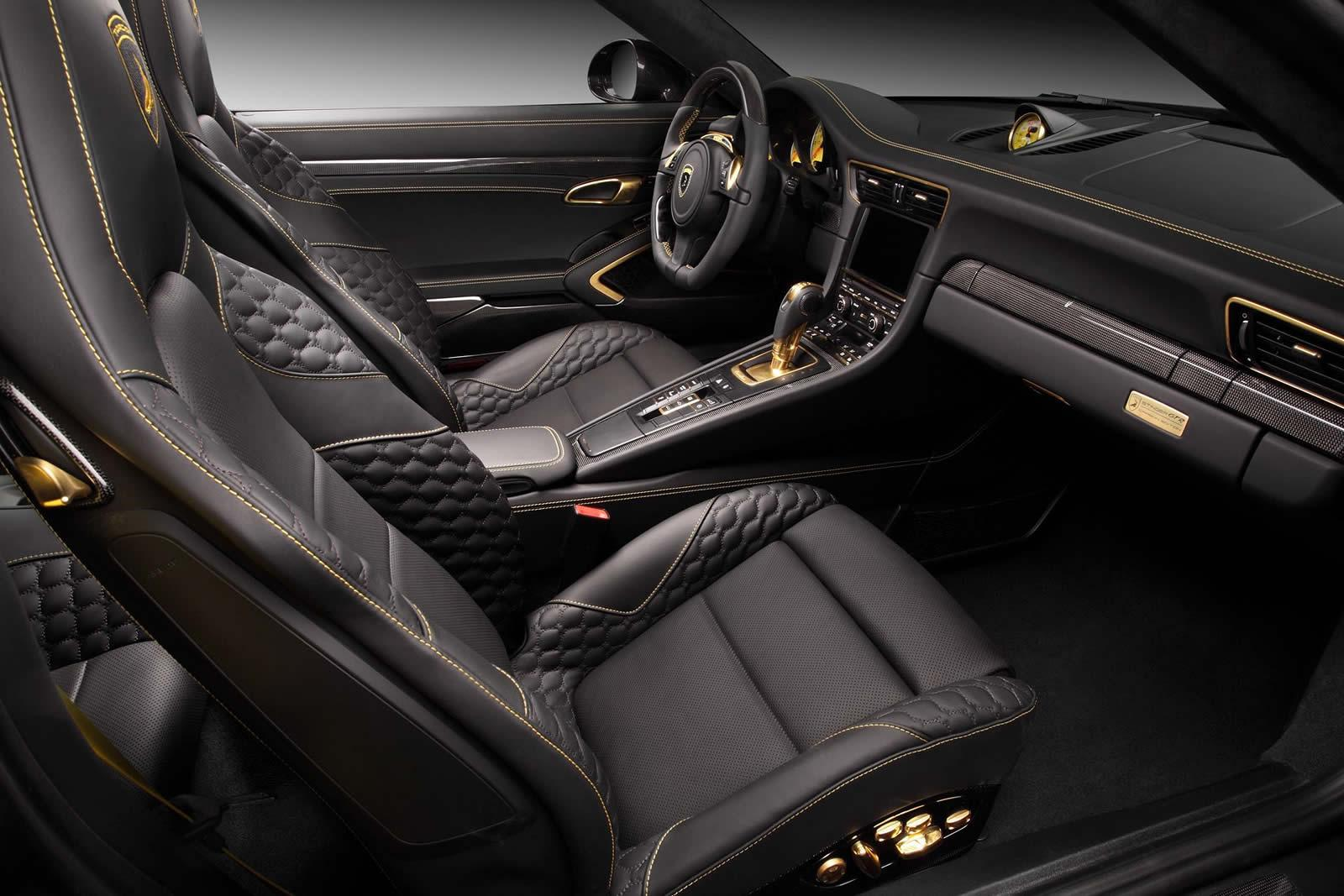 2015 porsche 911 turbo s stinger gtr carbon edition by topcar interior photo seats size 1600. Black Bedroom Furniture Sets. Home Design Ideas