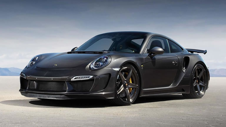 2015 porsche 911 turbo s stinger gtr carbon edition by for Porche americano