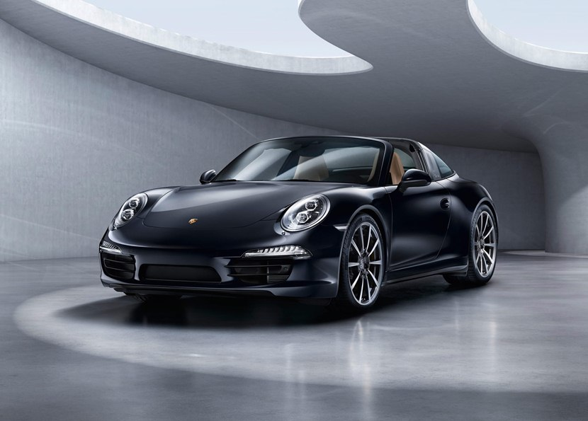front black color 2015 porsche 911 - Porsche 911 2015 Black