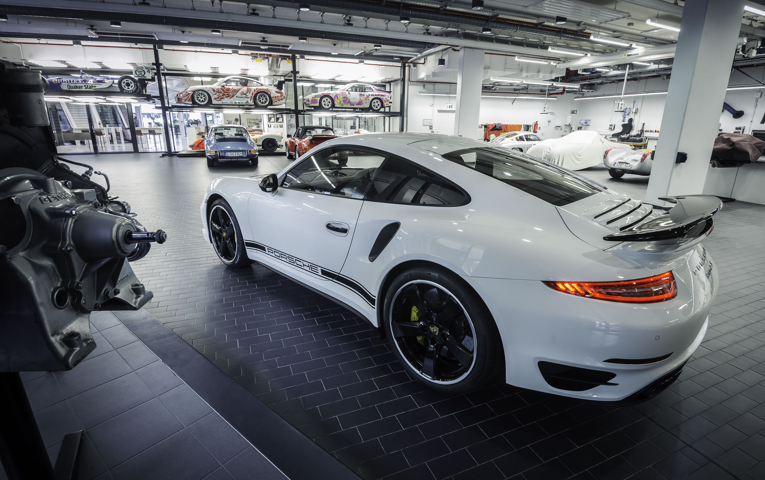 the car was designed and manufactured by porsche exclusive a department of the factory dedicated - 2015 Porsche 911 Turbo