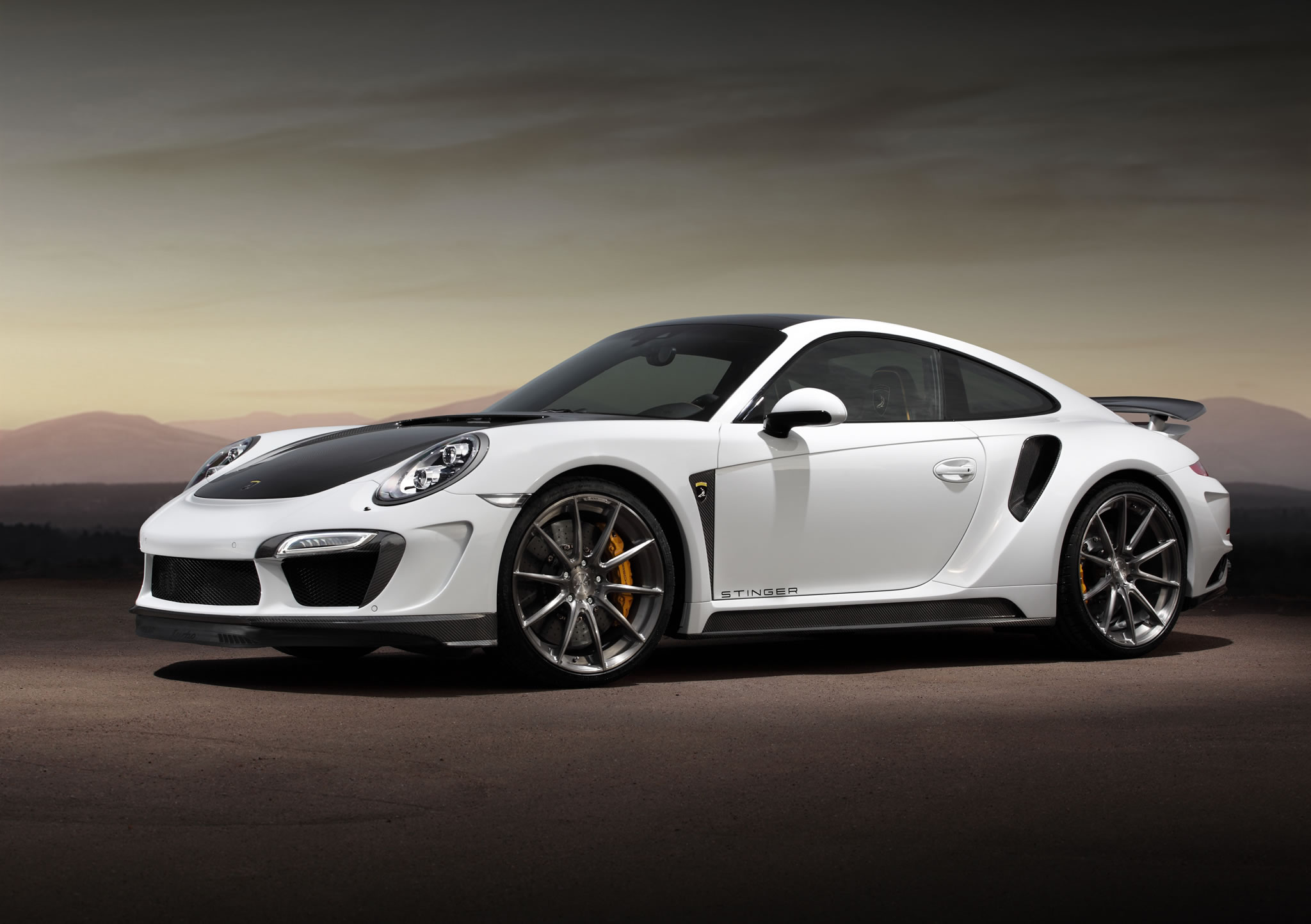 2015 Porsche 911 Turbo S Stinger Gtr By Topcar Front