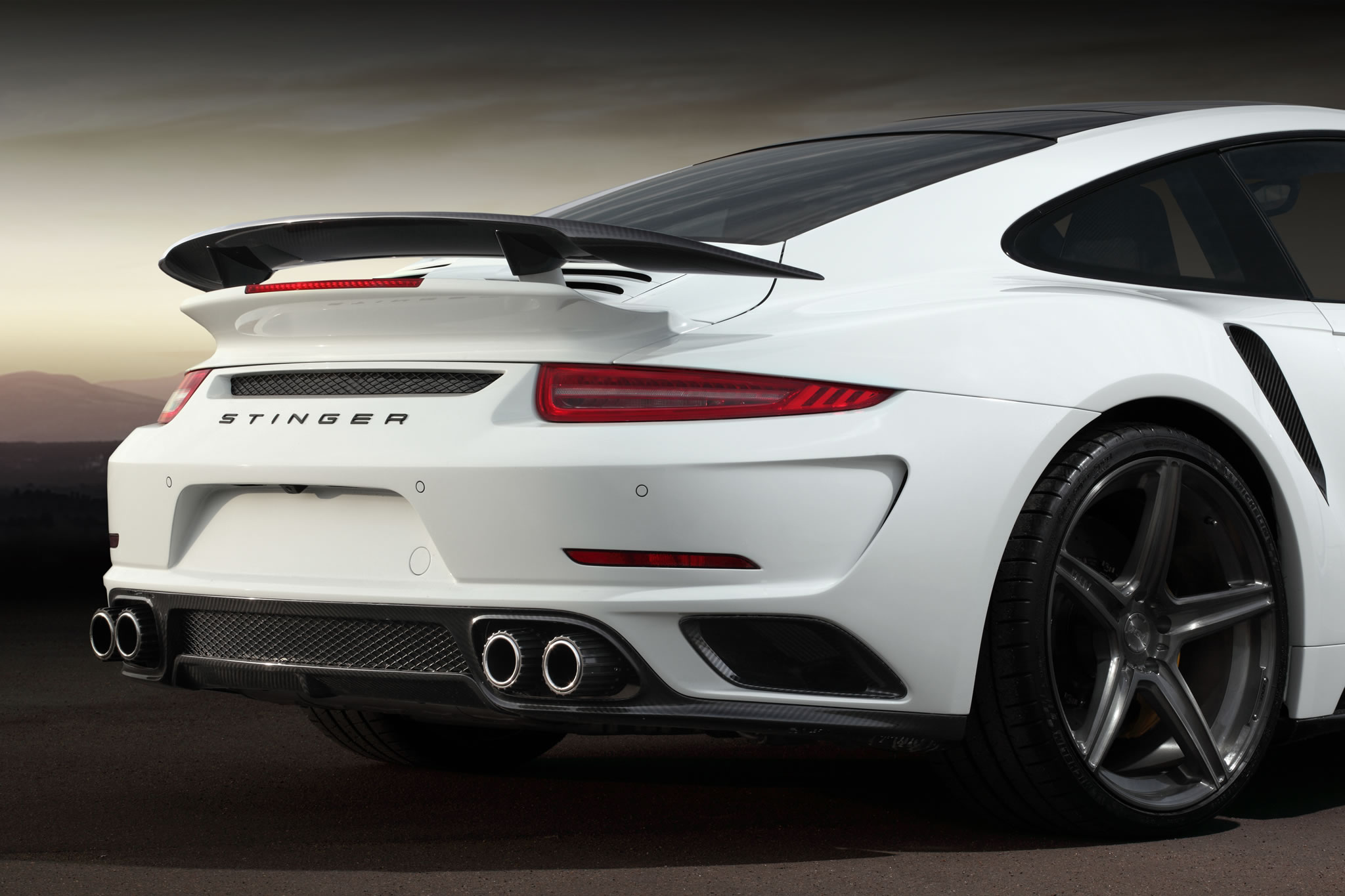 2015 porsche 911 turbo s stinger gtr by topcar detail photo rear wing size 2048 x 1365 nr. Black Bedroom Furniture Sets. Home Design Ideas