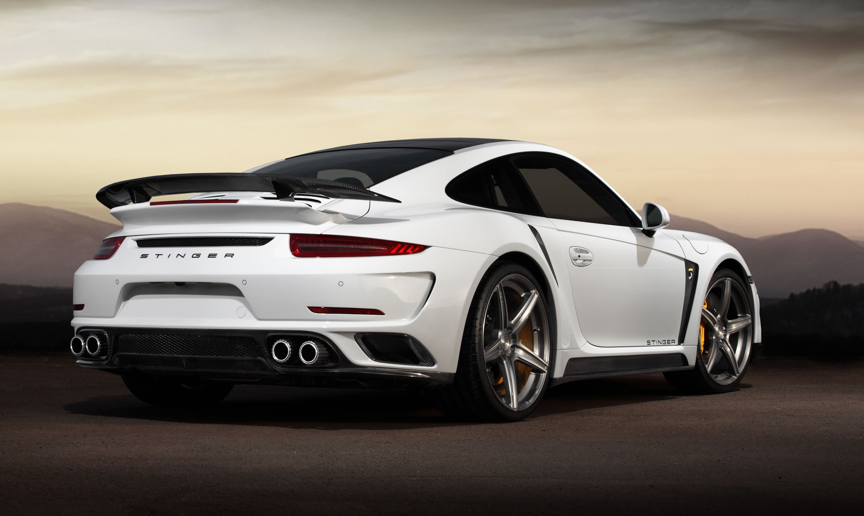 the tuner calls this the most sophisticated project they have - 2015 Porsche 911 Turbo