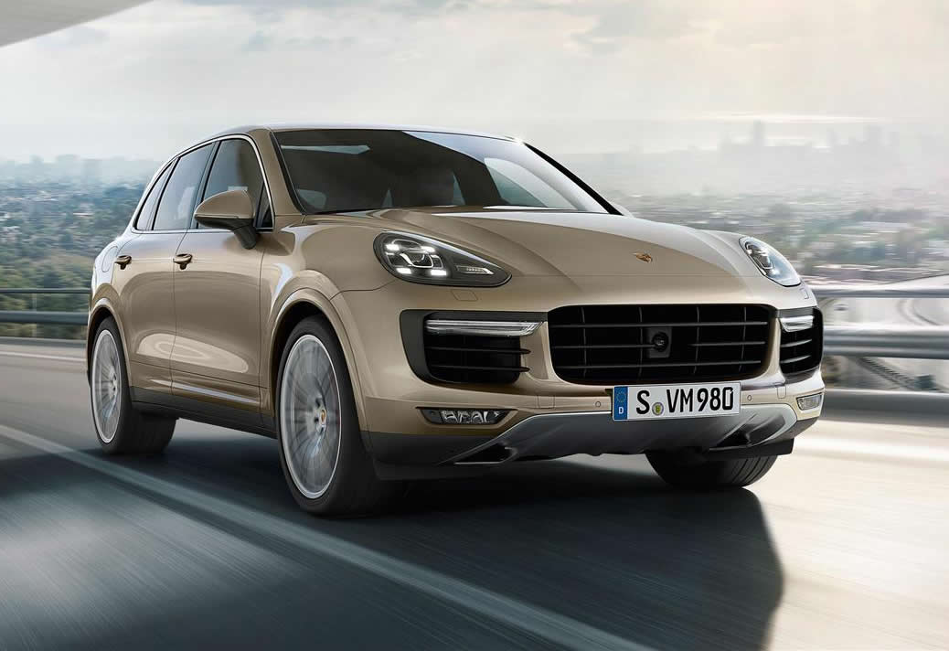 2015 Porsche Cayenne Turbo Front Photo Facelift Size
