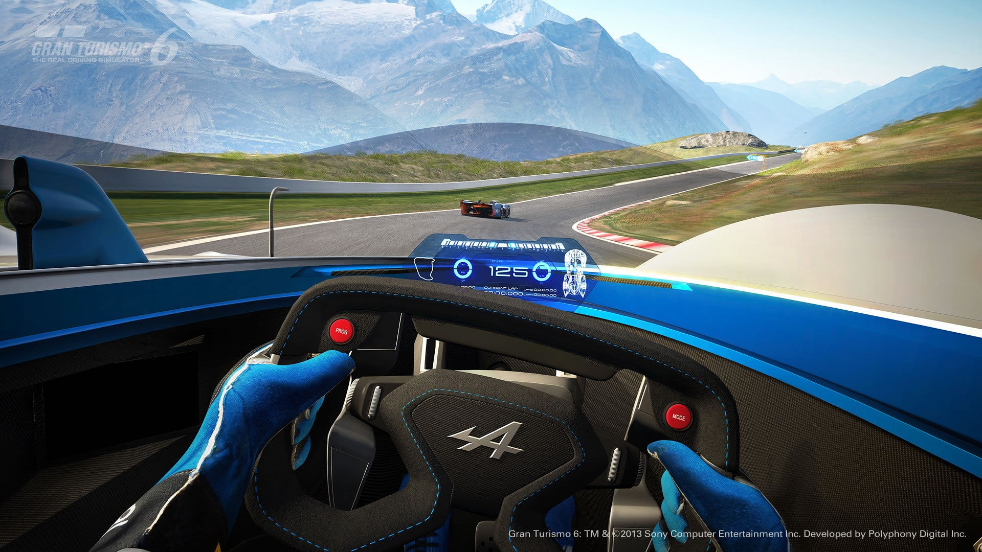 Lykan Hypersport Top View >> 2015 Renault Alpine Vision Gran Turismo Concept - interior photo, driving, cockpit view, size ...