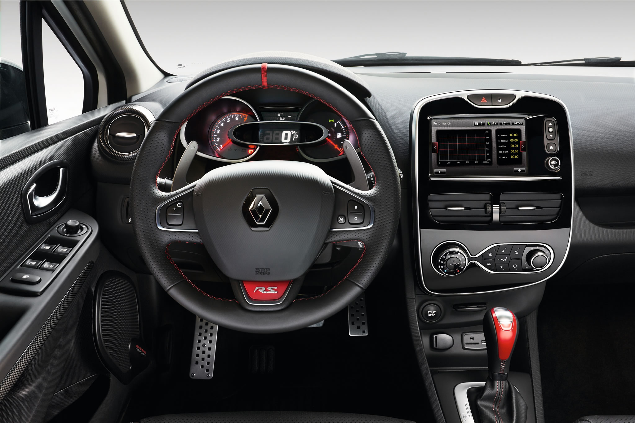 2015 renault clio r s 220 edc trophy interior photo Interieur clio 4
