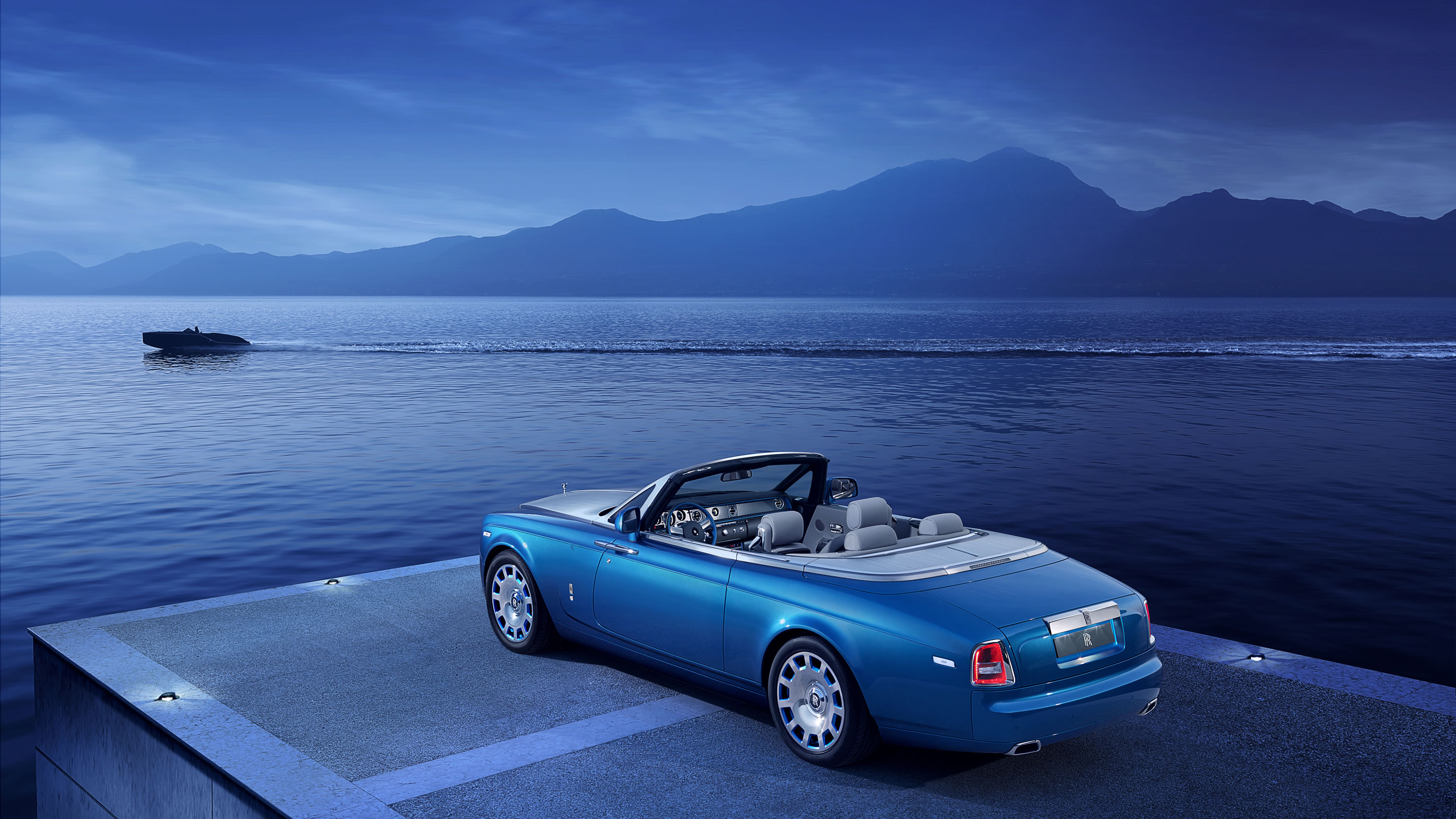 The 2015 Rolls Royce Phantom Drophead Coupe Waterspeed Collection Is Finished In A Specially Developed