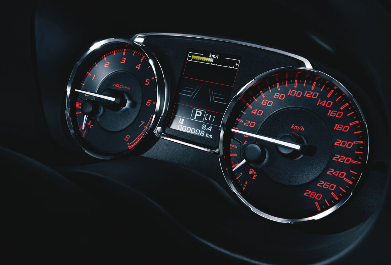 2015 Subaru WRX S4 JDM - interior photo, speedometer, RPM ...