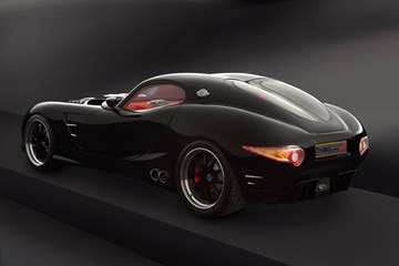 The British designed Trident sports cars boast a distinctive look, with clean 