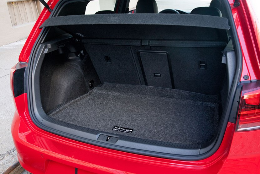 2015 Volkswagen Golf Gti Interior Photo Trunk Size