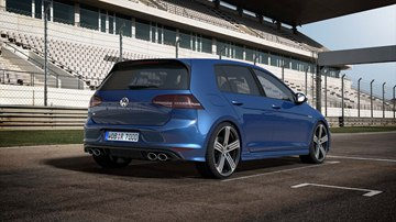 Along with specially designed bumpers, side skirts, and 18-inch aluminum-alloy 
