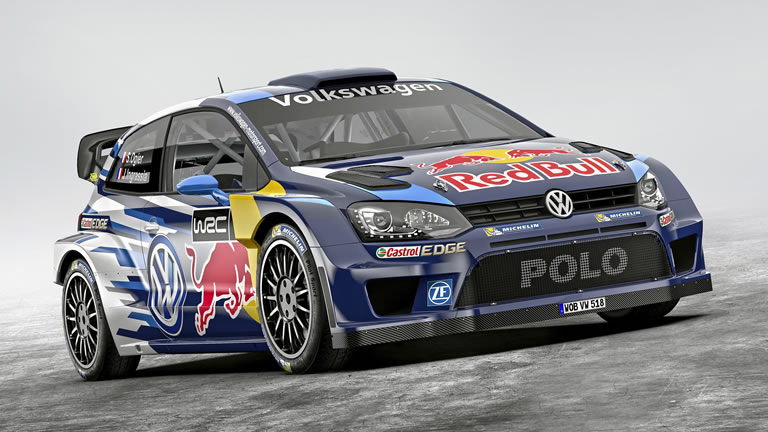 2015 Volkswagen Polo R WRC Rally Car