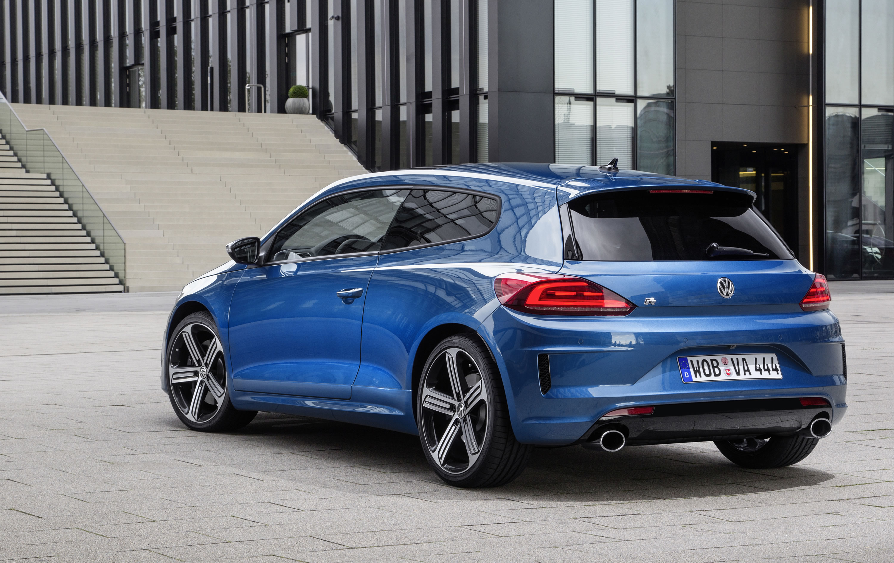 Delightful Volkswagen Has Given A Sleek New Look To Its Scirocco R Hatchback Coupe  Which Will Also Feature A More Powerful And Efficient Engine In The 2015  Model Year.