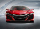 front, NSX Red paint