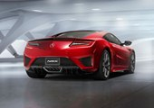 rear, NSX Red paint