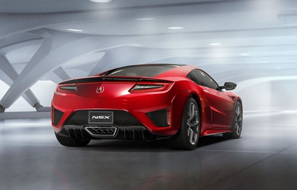 The company will begin accepting custom orders for the new NSX starting in the 
