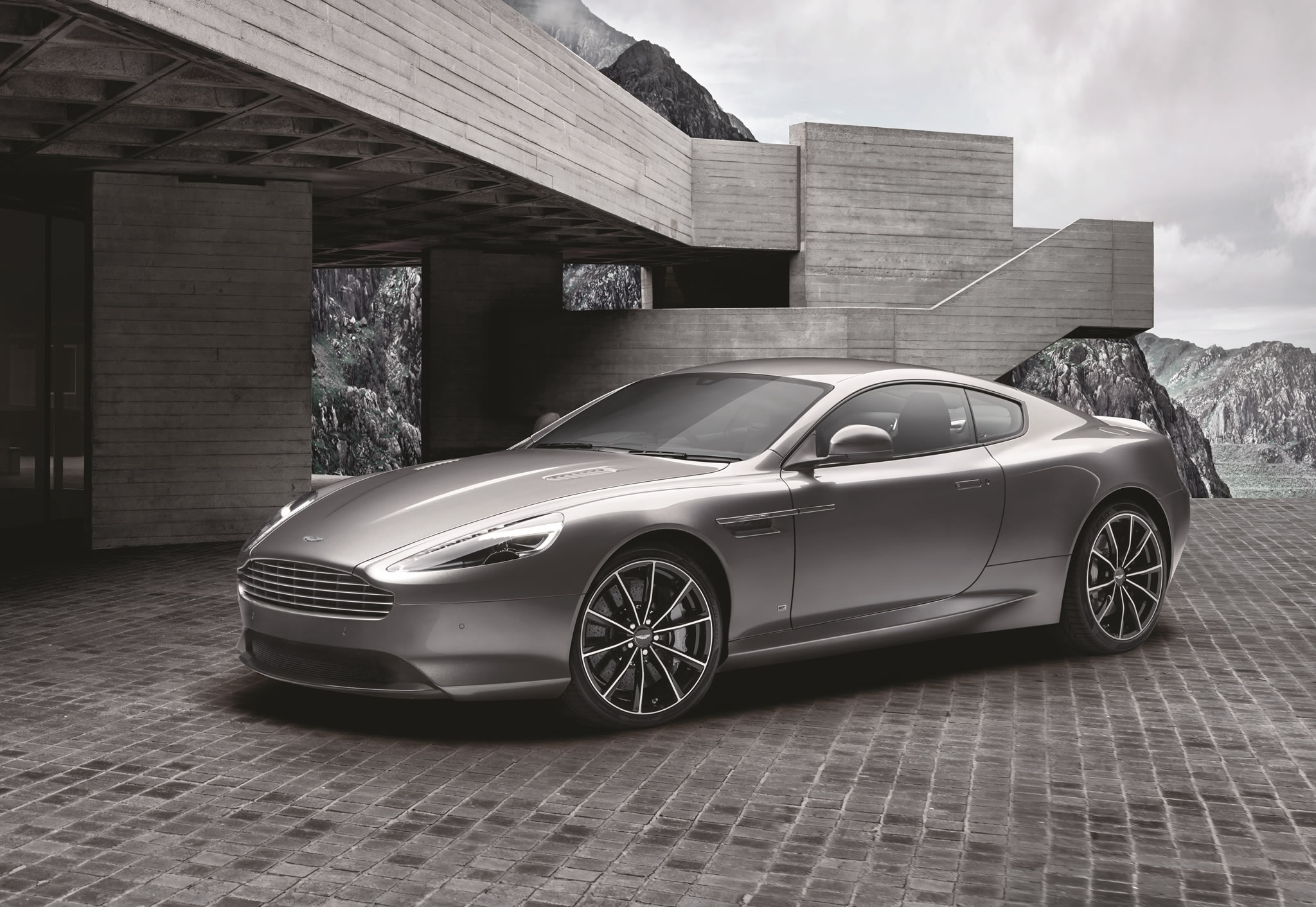 2016 aston martin db8 gt bond edition - front photo, 150 examples