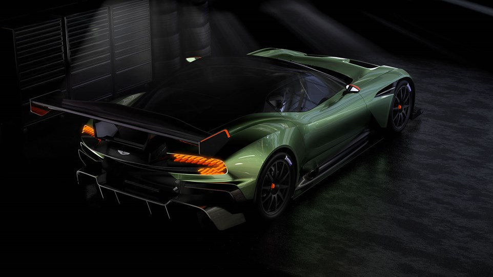 2016 Aston Martin Vulcan Race Car