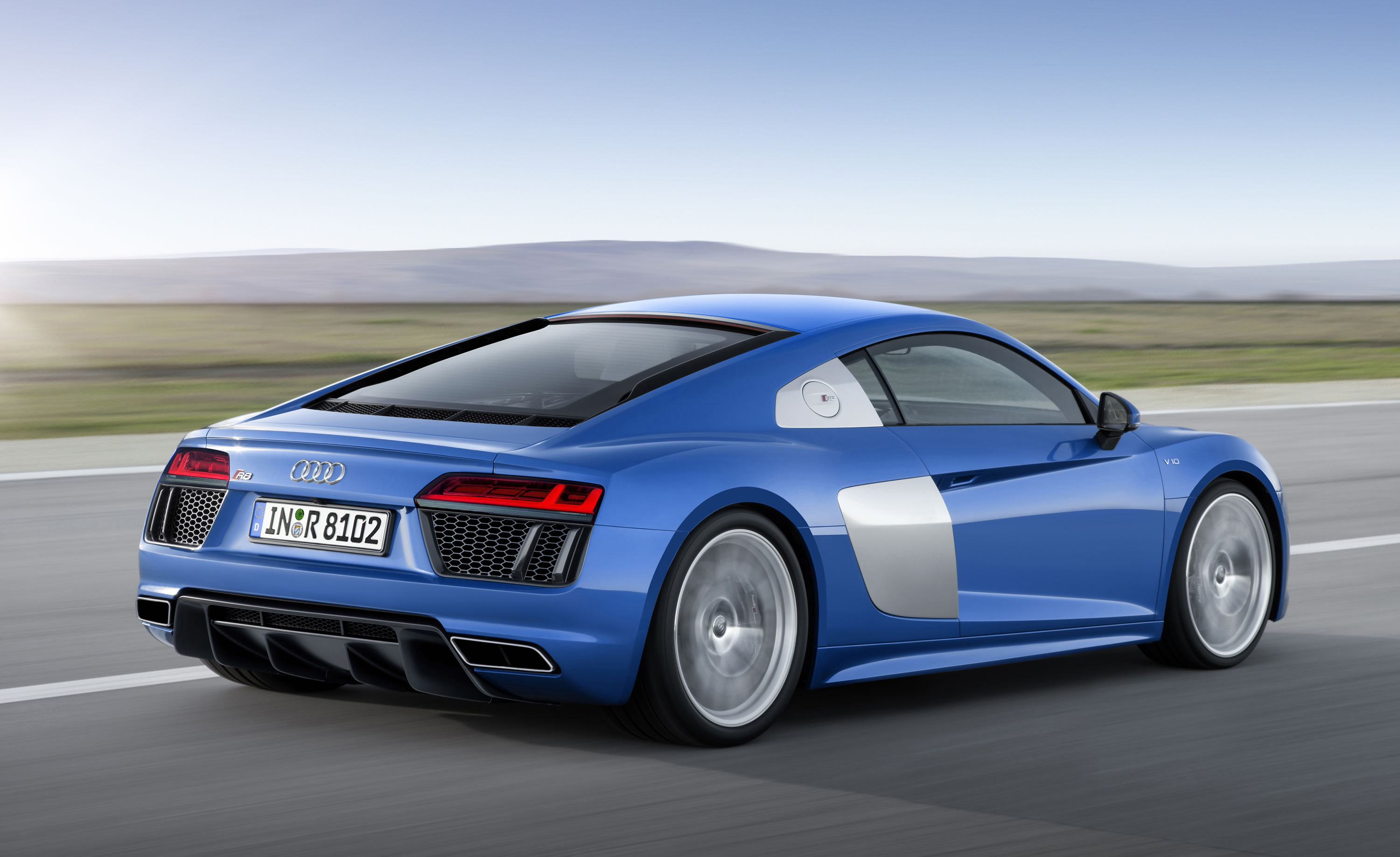 In Its Second Generation, The High Performance R8 Sports Car Has Been Newly  Developed