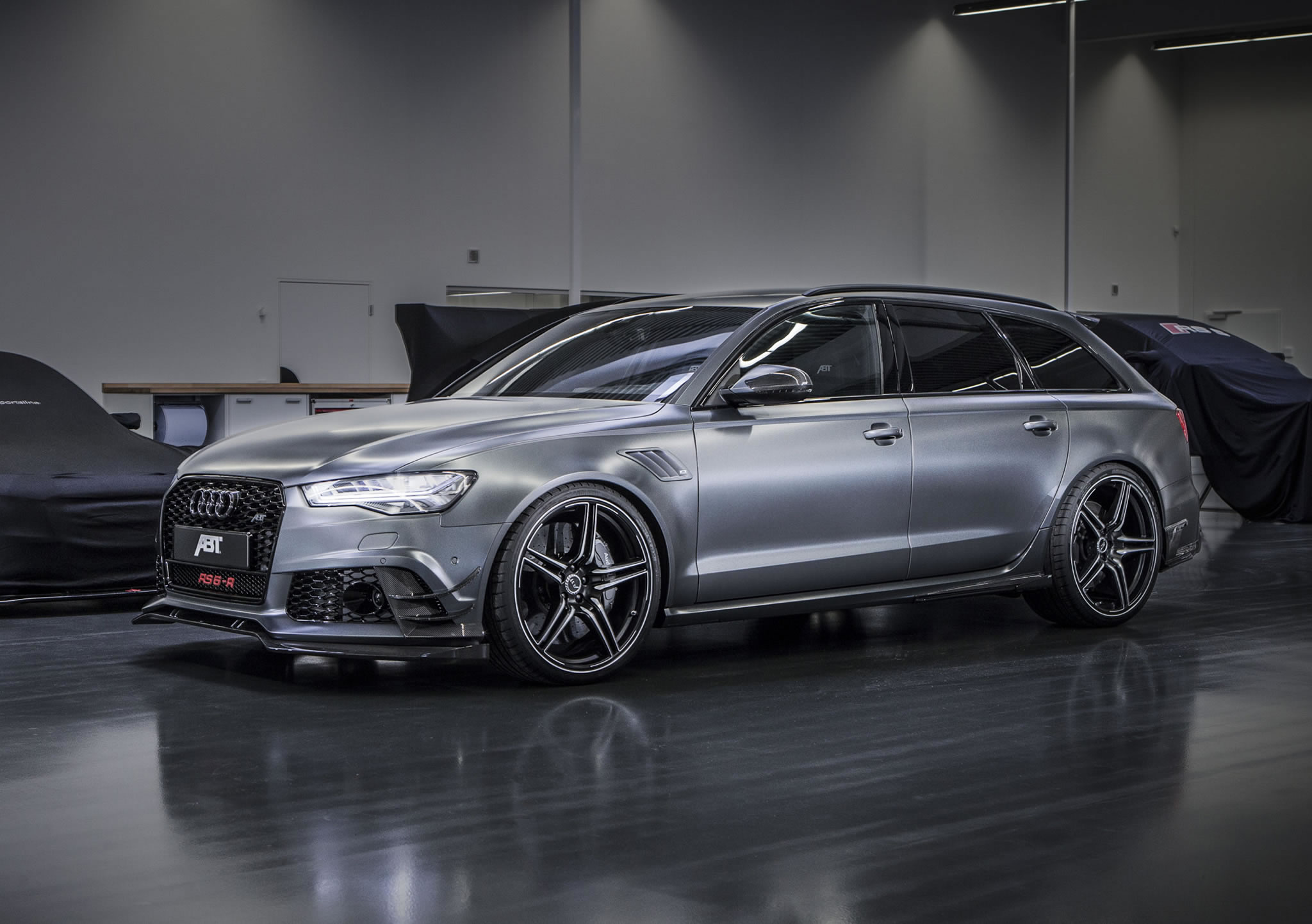 2016 audi rs6 r by abt front photo daytona grey matt paint size 2048 x 1444 nr 1 9. Black Bedroom Furniture Sets. Home Design Ideas