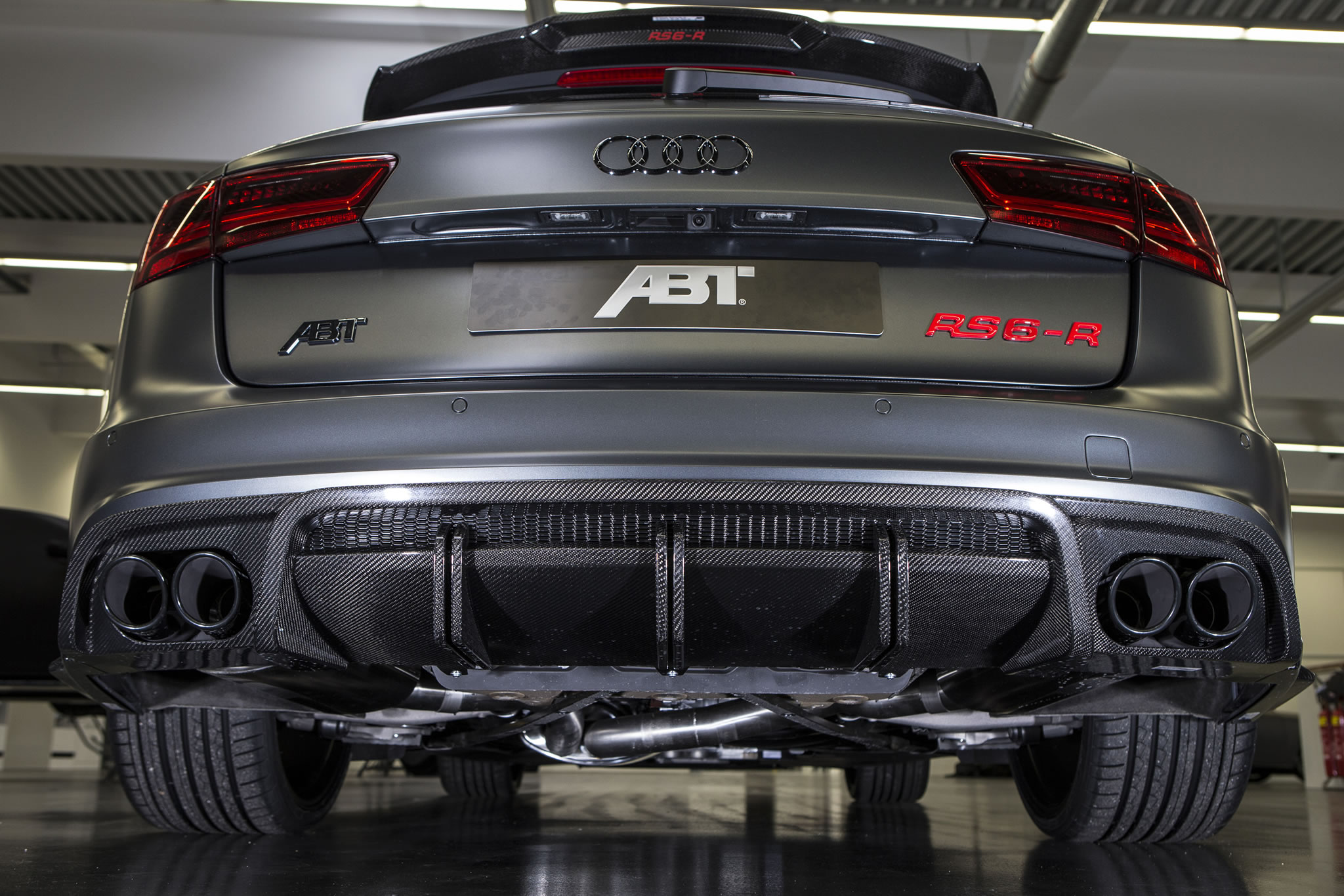 2016 audi rs6 r by abt rear photo daytona grey matt paint size 2048 x 1366 nr 3 9. Black Bedroom Furniture Sets. Home Design Ideas