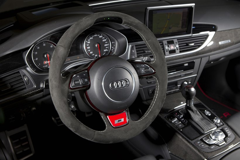 2016 Audi Rs6 R By Abt Interior Photo Alcantara