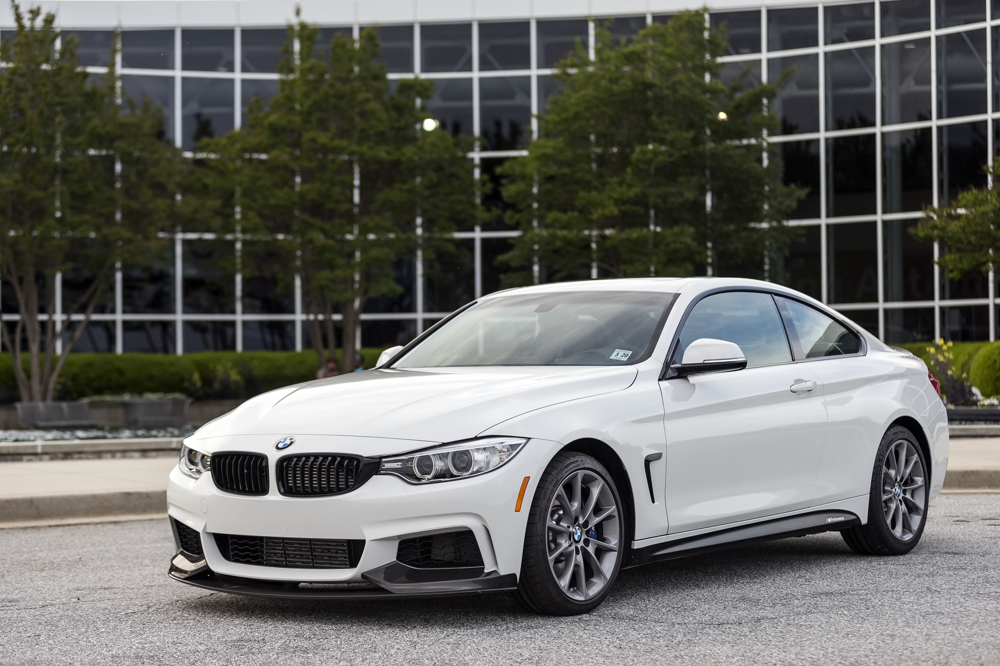 2016 Bmw 435i Zhp Coupe Front Photo Alpine White Paint