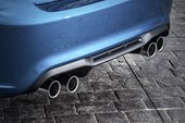 detail, quad exhaust pipes