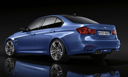 The rear light bars, arranged in a 