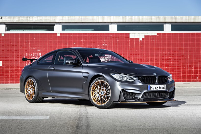 2016 Bmw M4 Gts Front Photo Frozen Dark Grey Metallic