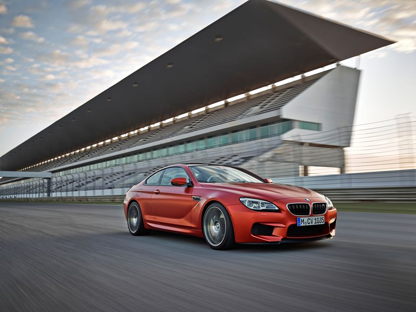 2016 BMW M6 Coupe - front photo, Frozen Red paint, size ...