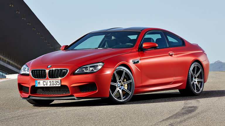 Unveiled: 2016 BMW M6 Coupe
