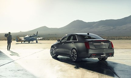 The 2016 Cadillac CTS-V tries to be two cars in one: 