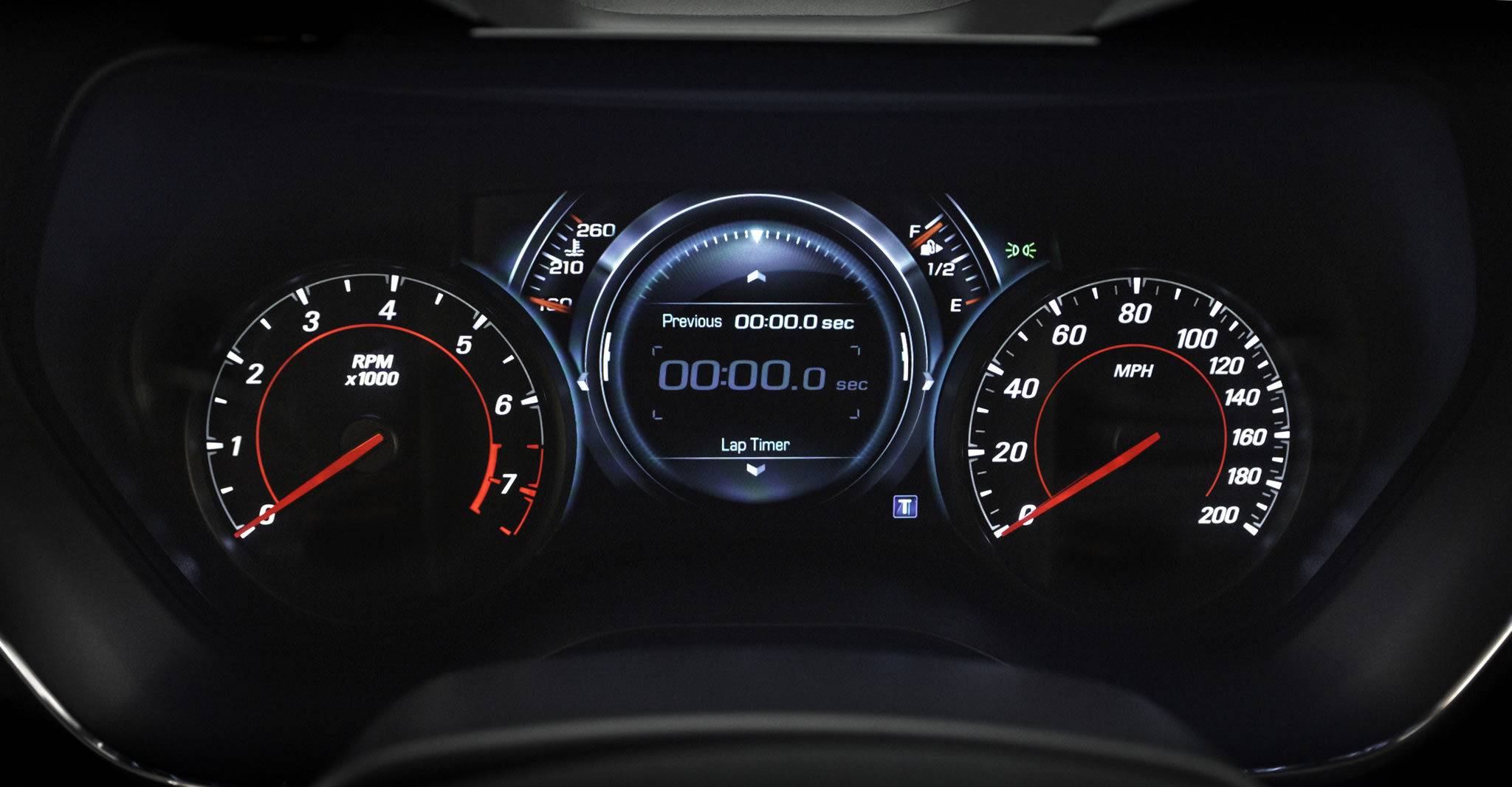 2016 Chevrolet Camaro Ss Detail Photo Speedometer Lap