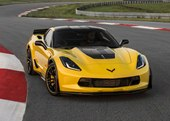 front, Corvette Racing Yellow Tintcoat color