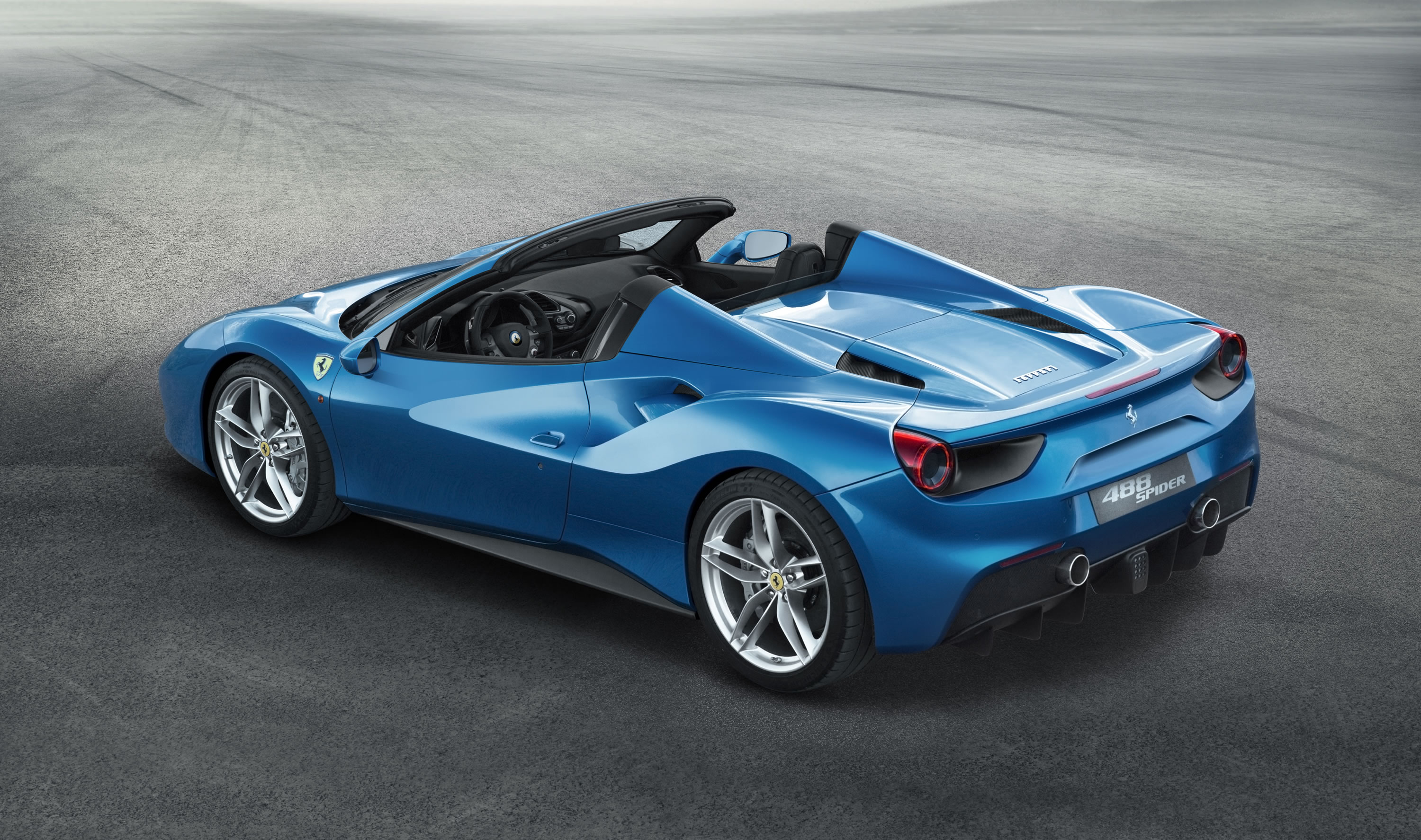 The World Premiere Of 488 Spider Will Be At Frankfurt International Motor Show In