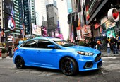 front, Times Square, NYC, Nitrous Blue color