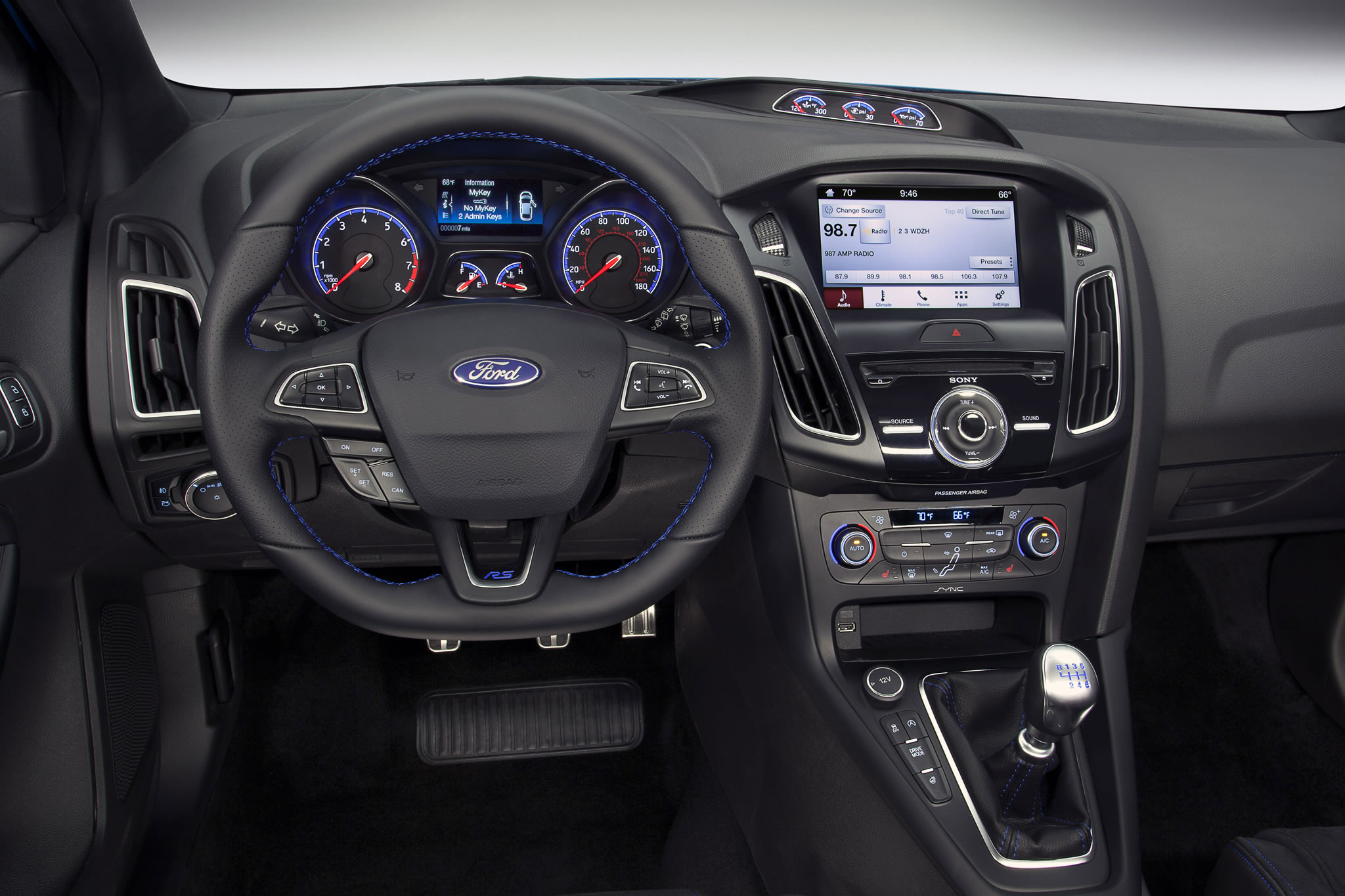 2016 Ford Focus Rs Interior Photo Steering Wheel Dashboard