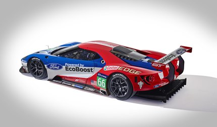 An all-new Ford factory program will compete in both the FIA World Endurance Championship and TUDOR United SportsCar Championship with a two-team, four-car effort - operated by Chip Ganassi Racing with Felix Sabates.