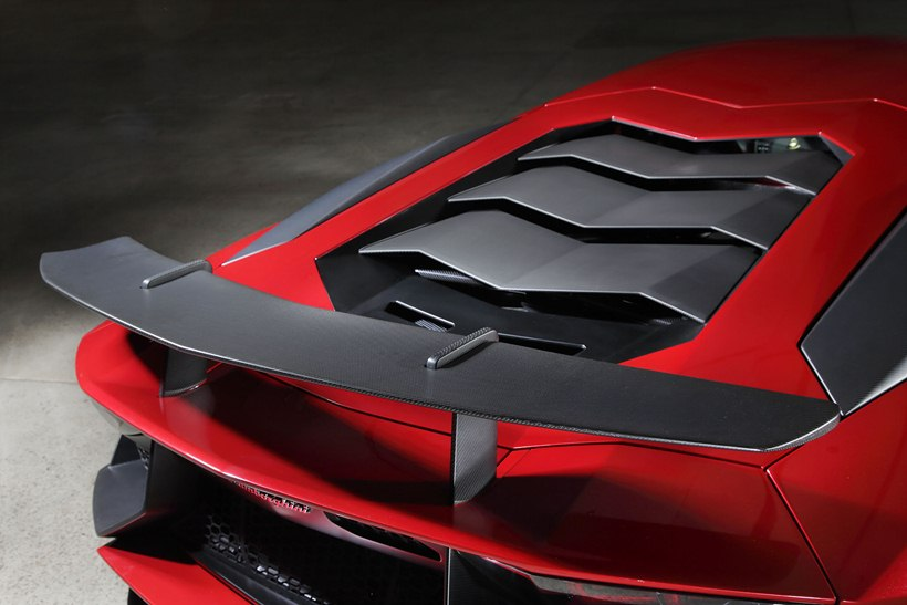 2016 Lamborghini Aventador LP 7504 Superveloce  detail photo, rear